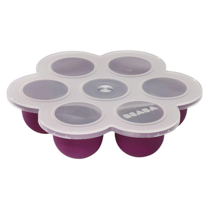 Envases para congelar papillas de Beabá. en Color Purpura