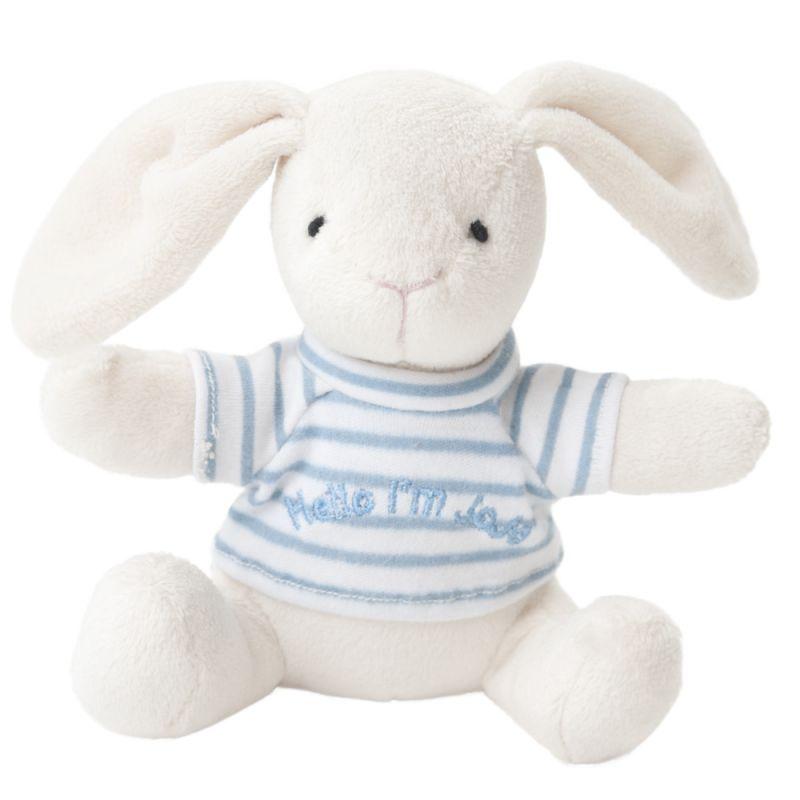 Peluche Conejito para Bebés Azul de la marca JojoMamanBebe