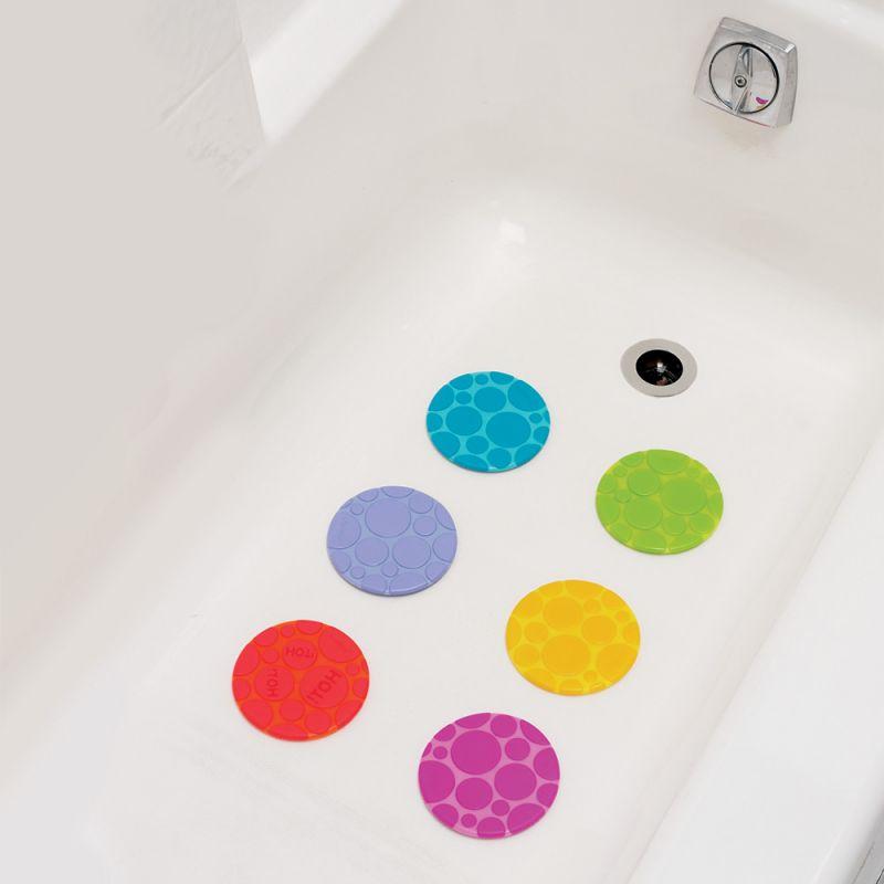 Puntos de Colores Antideslizantes para Bañera de la marca Munchkin