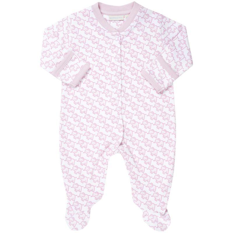 Pijama Bebé Elefantes Rosas