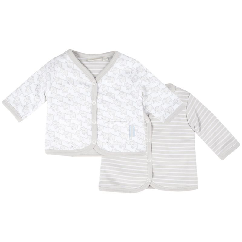 Chaqueta Reversible gris para Bebés