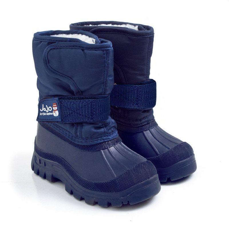 Botas de Nieve Alpinas azules para NIños