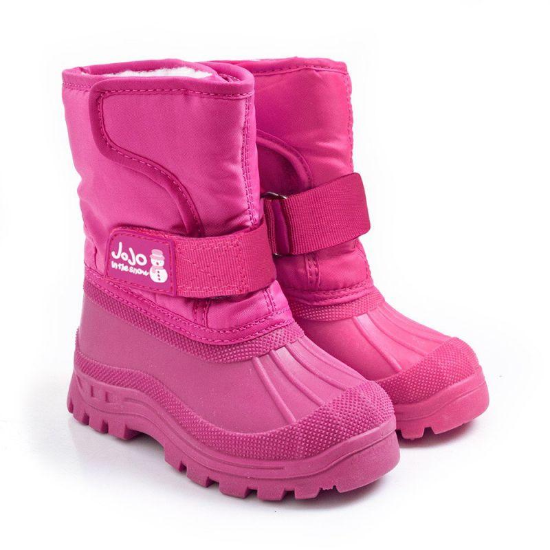 Botas de Nieve  Alpinas rosas para NIños