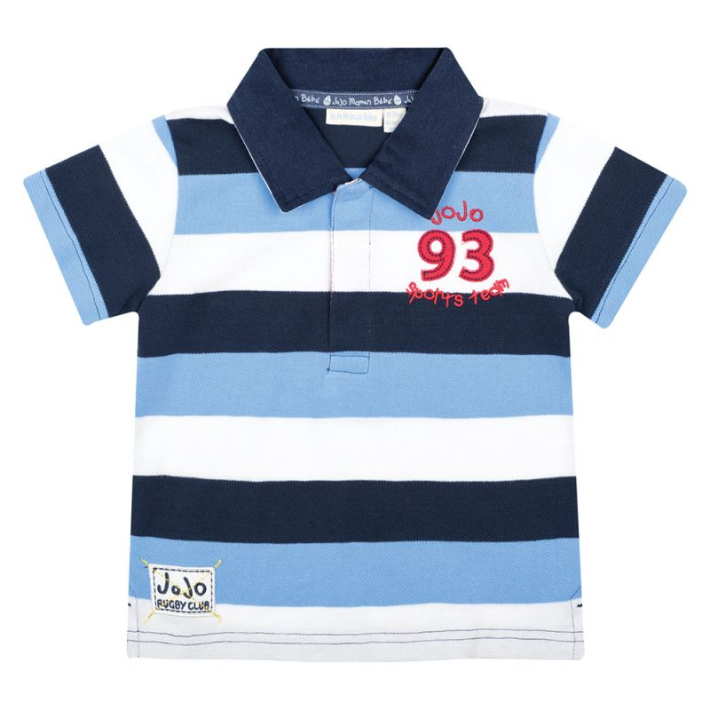Polo de Niño Rugby Azul
