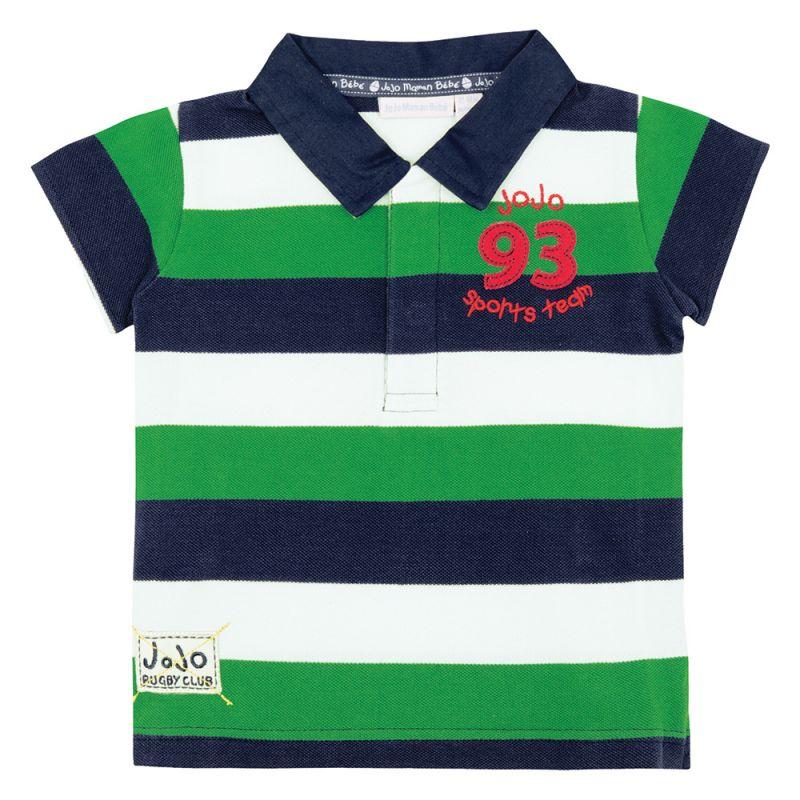Polo de Niño Rugby Verde
