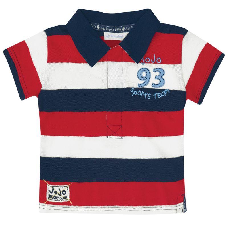 Polo de Niño Rugby Rojo