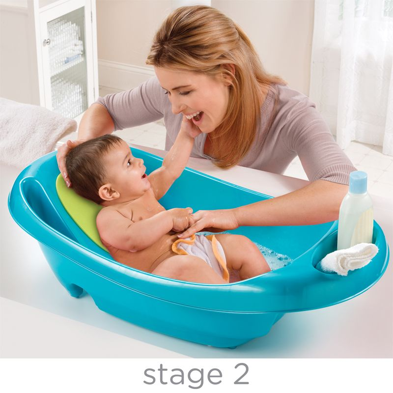 Bañera 3 Etapas Splish and Splash azul - Summer Infant