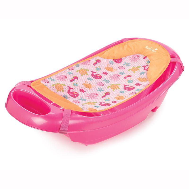 Bañera 3 Etapas Splish and Splash rosa - Summer Infant