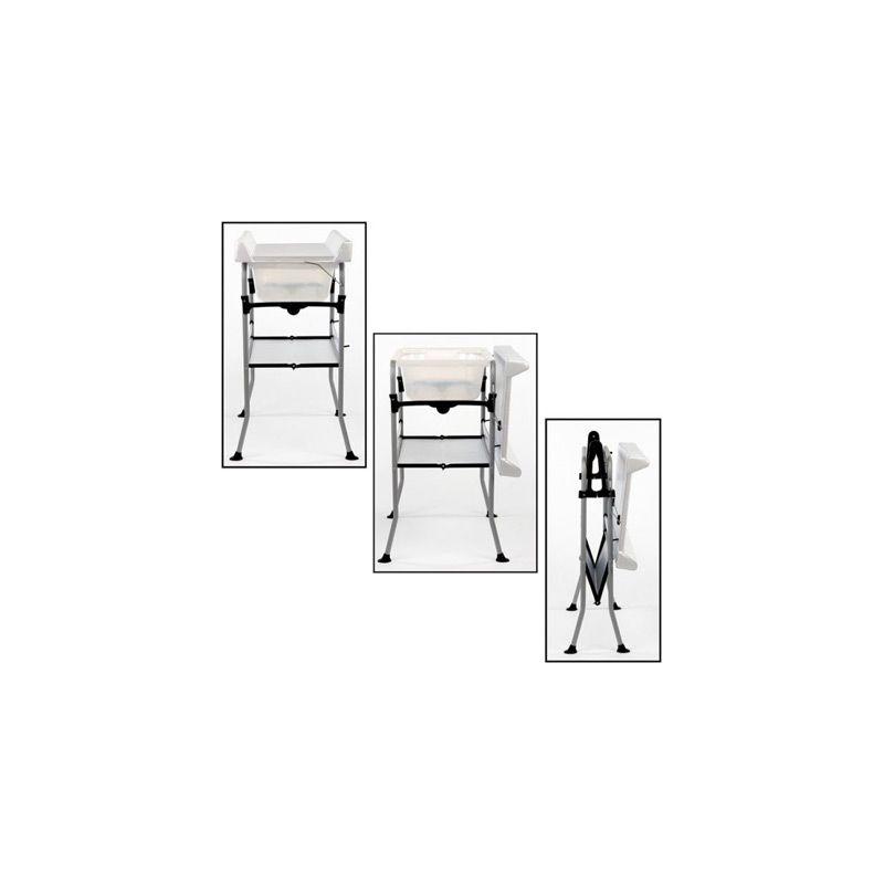 Bañera Cambiador en color Blanco Easy to Store de Quax