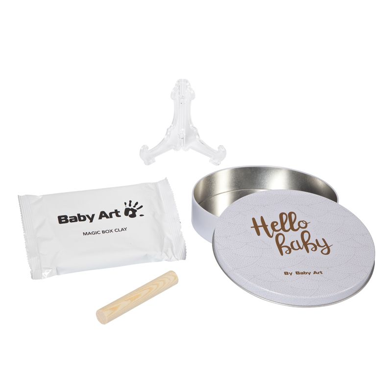 Baby Art Magic Box, Set Huellas Bebé shiny vibes