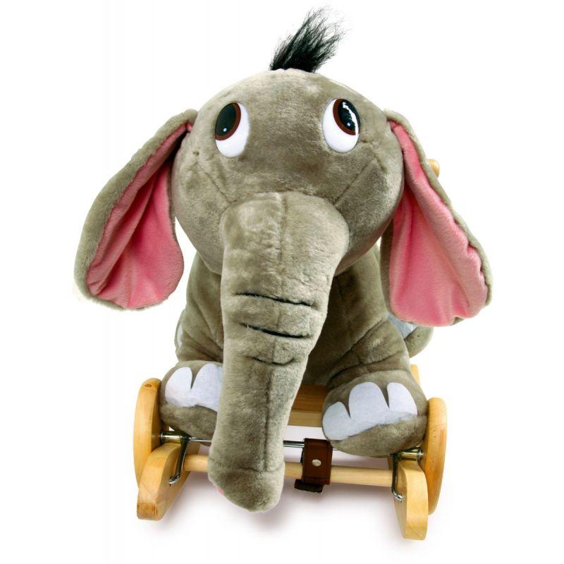 Balancín de madera Elefante Kumbo