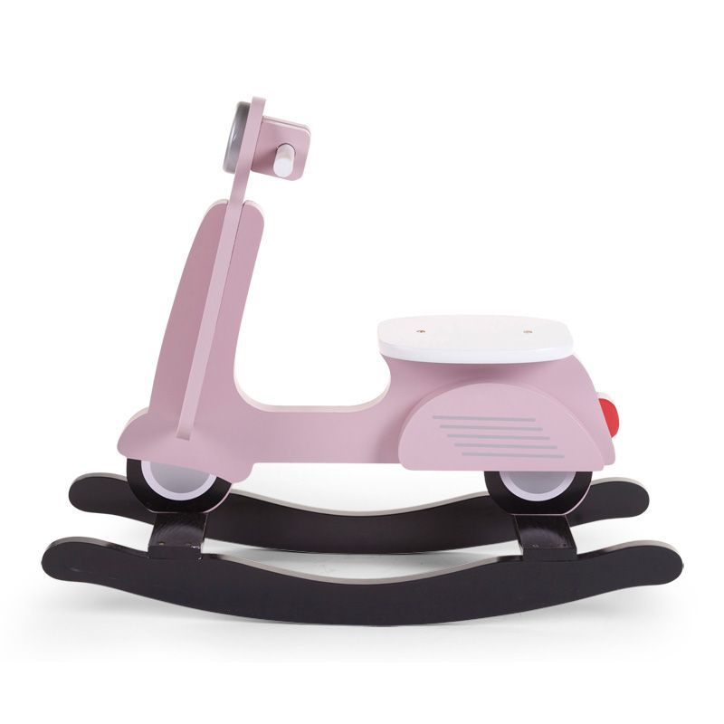 Balancín Infantil Scooter Childhome en color rosa