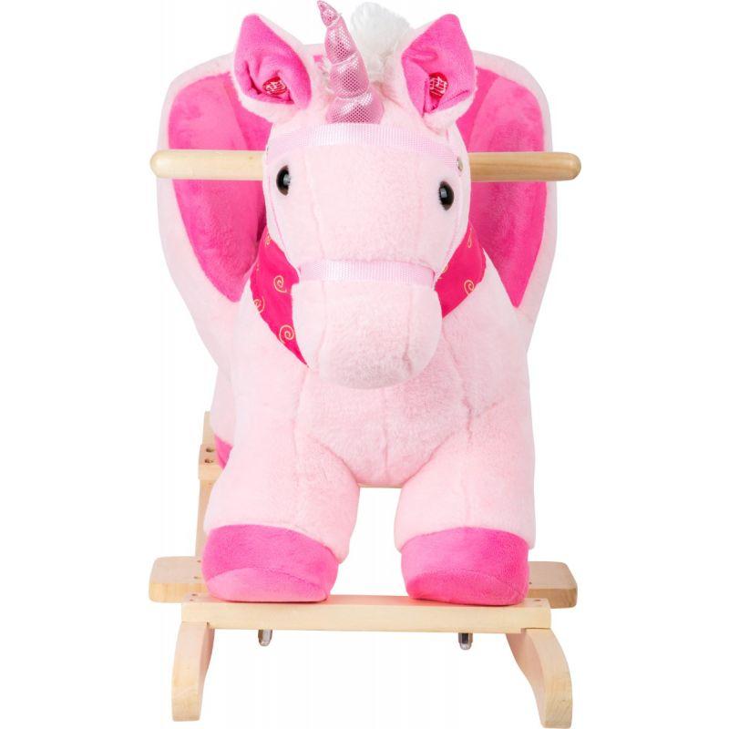 unicornio rosa balancin