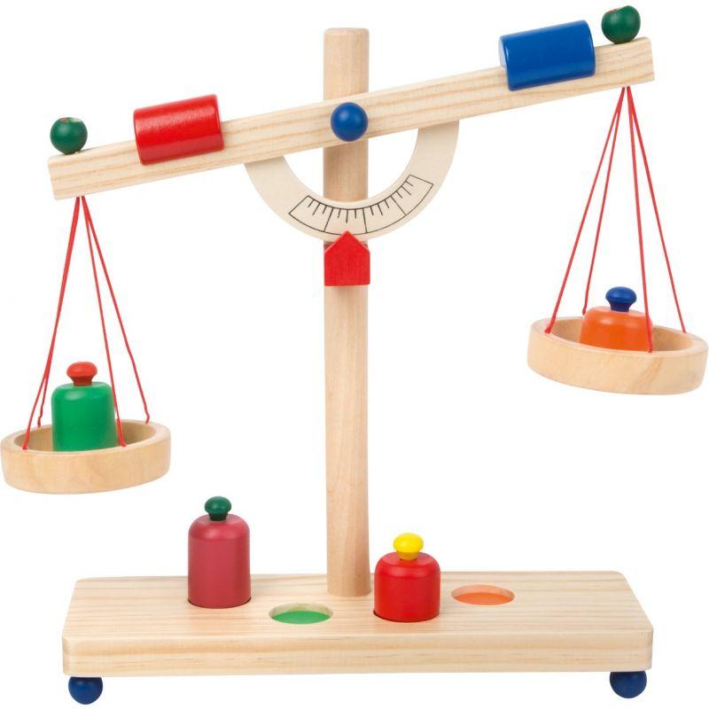 bascula romana de juguete