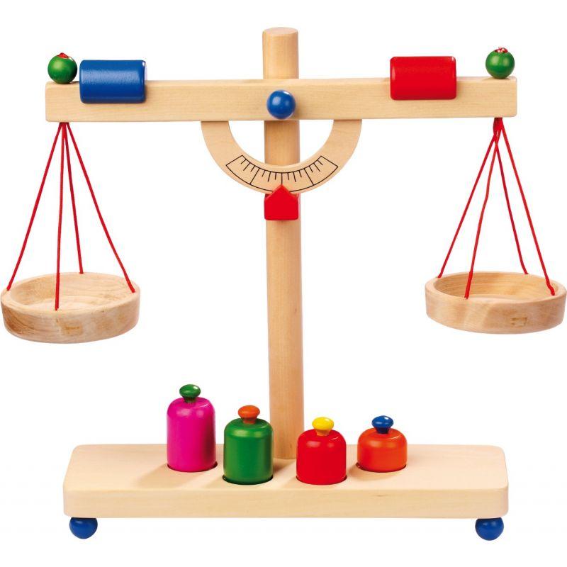 pesa romana de juguete