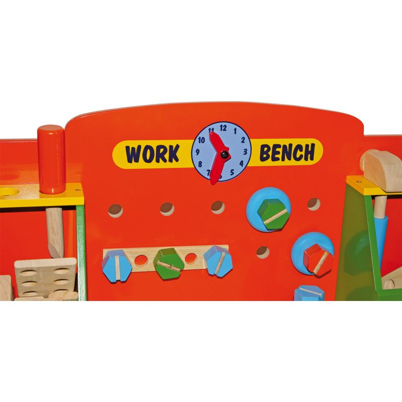 Banco de trabajo de madera Tobi - Legler