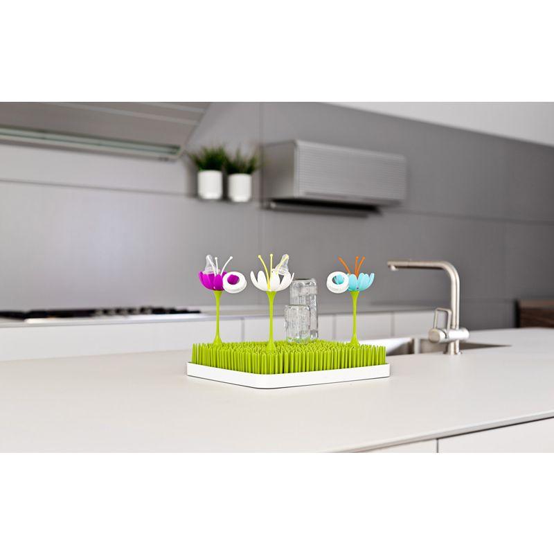 Boon - Bandeja de secado para biberones con diseño de césped