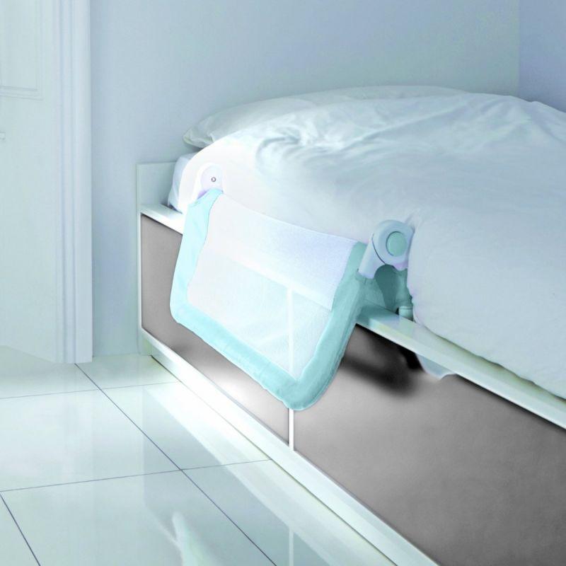 Barrera de cama azul Ajuste fácil Lindam