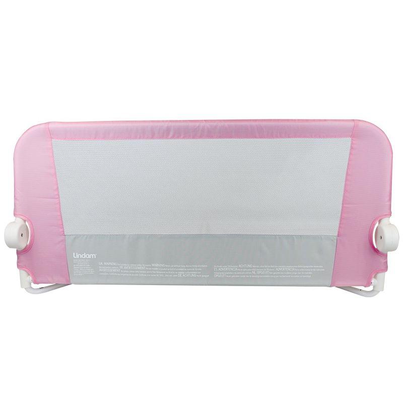 Barrera de cama rosa Lindam