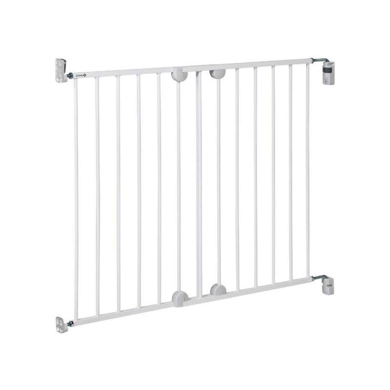 Puerta de seguridad de metal. Se fija a la pared. Safety 1st
