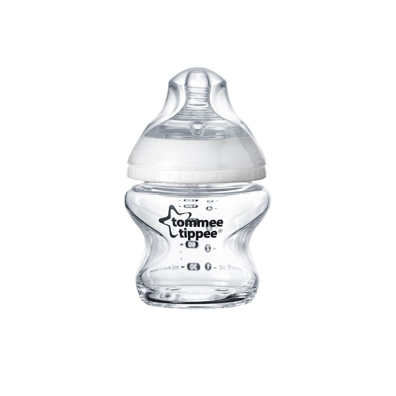 Biberón de Cristal Tommee Tippee Closer to Nature 150 ml
