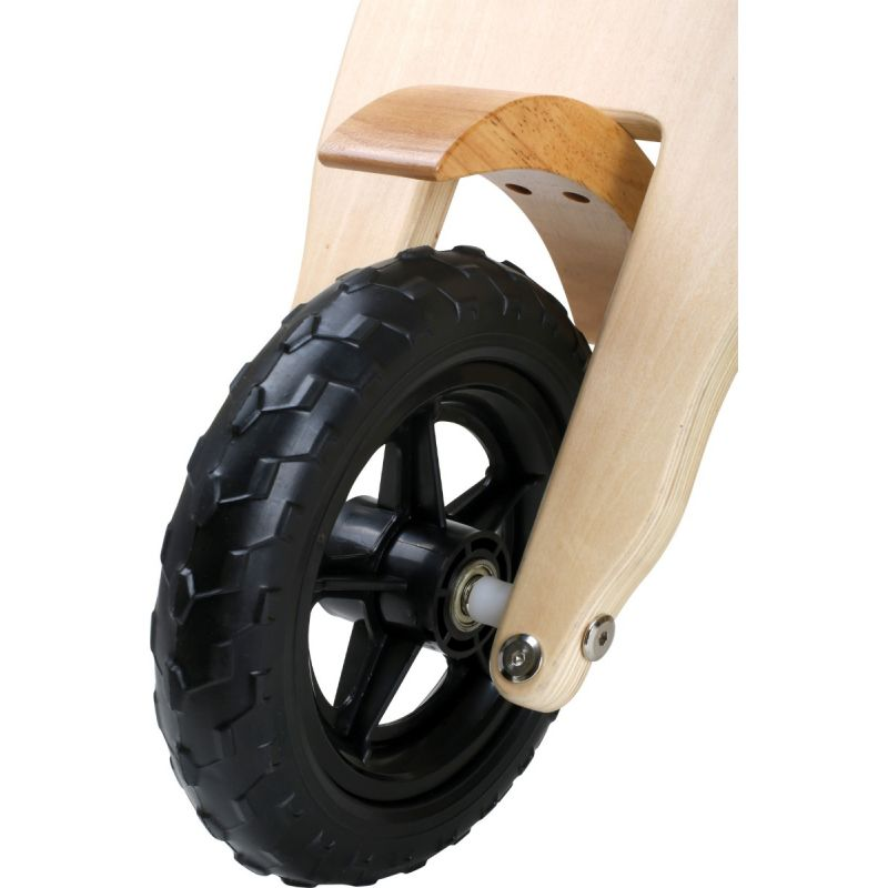 bici de madera tipo scooter