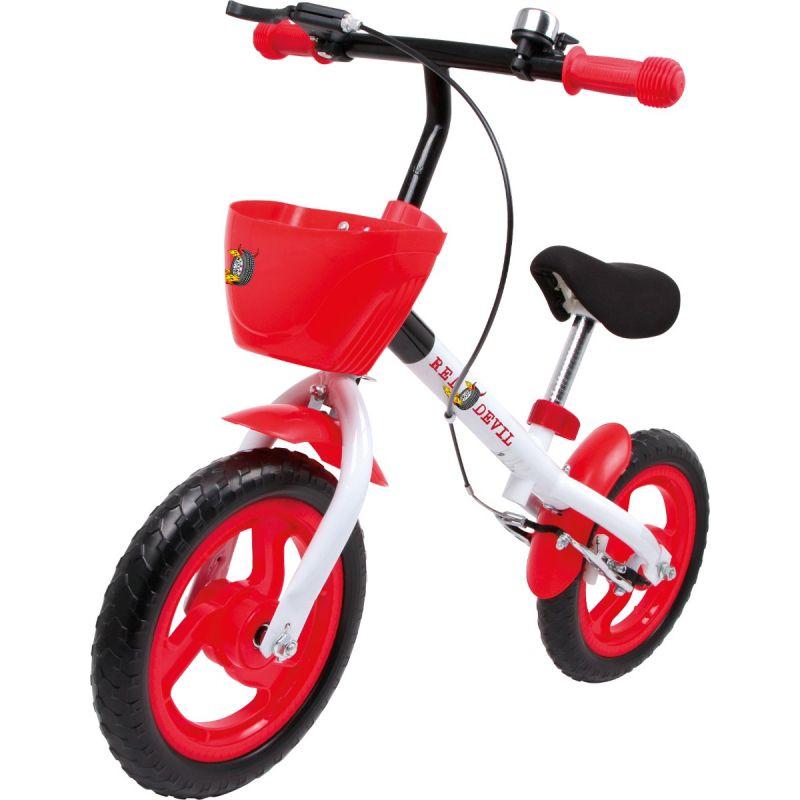 bicicleta con cesta para niño
