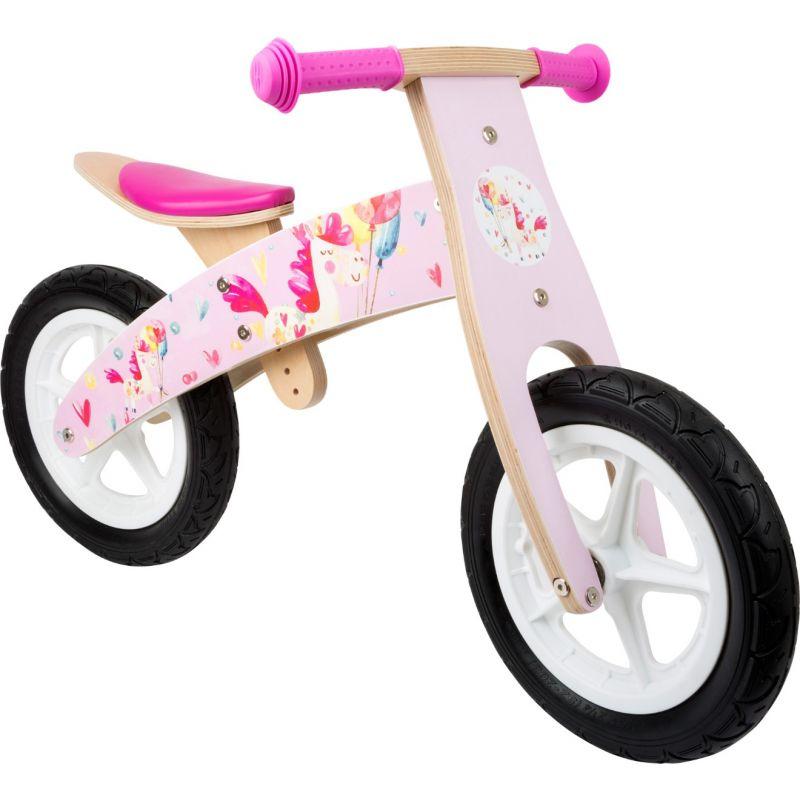 bicicleta sin pedales rosa unicornios