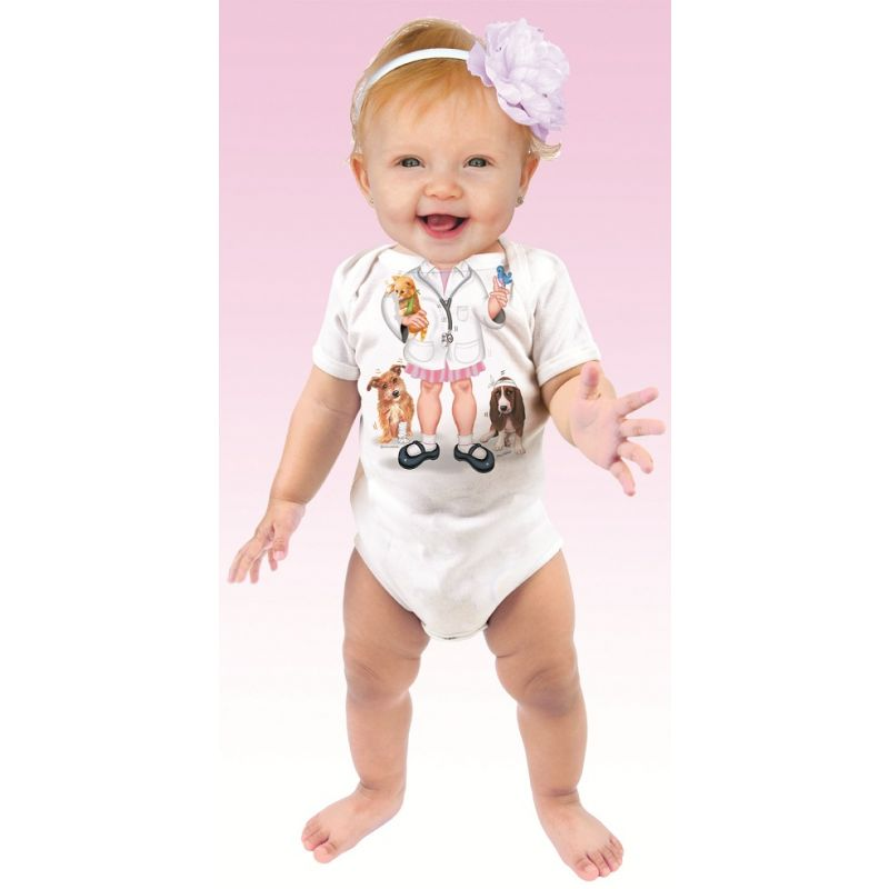 Body Bebé Divertido Doctora