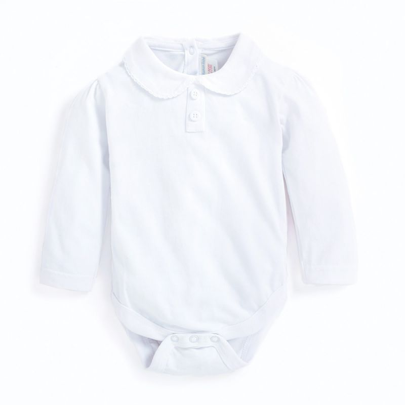 Body cuello Peter Pan en color blanco