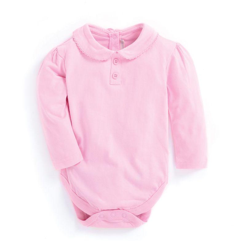 Body cuello Peter Pan en color rosa