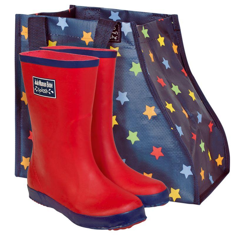 Bolsa Impermeable Guardar Botas Infantiles de estrellas