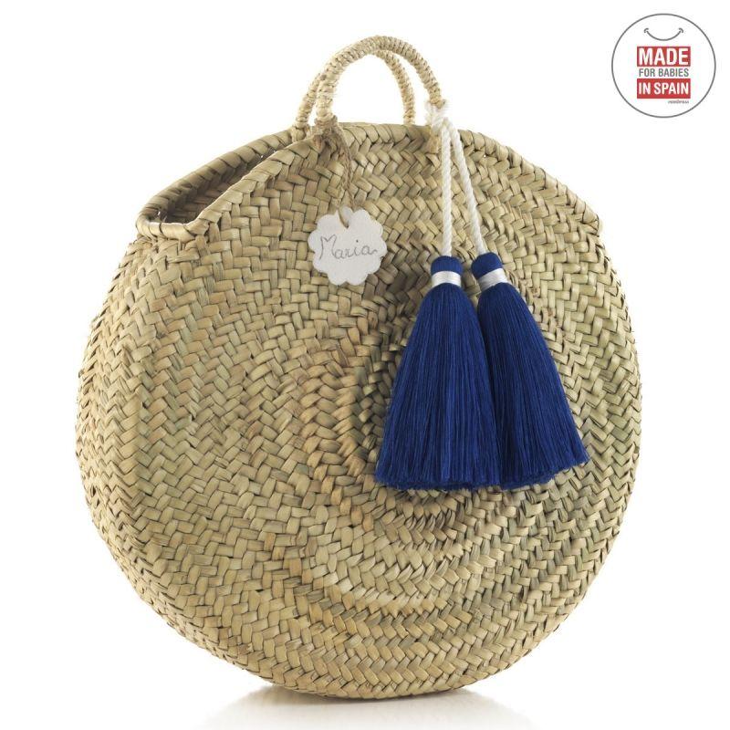 Bolso de Palma Tassel azul Cambrass