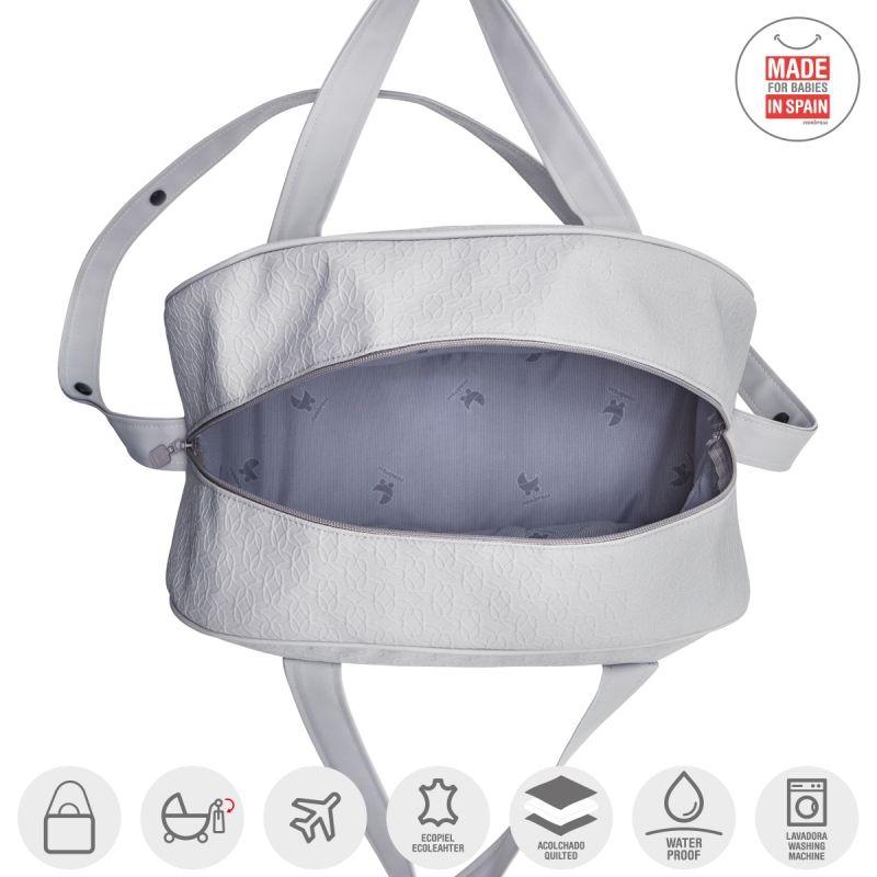 Bolso Maternal Prome Luxy Gris - Cambras