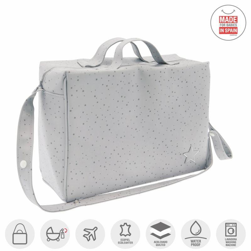 Bolso Maternal Tabela Astra gris - Cambrass