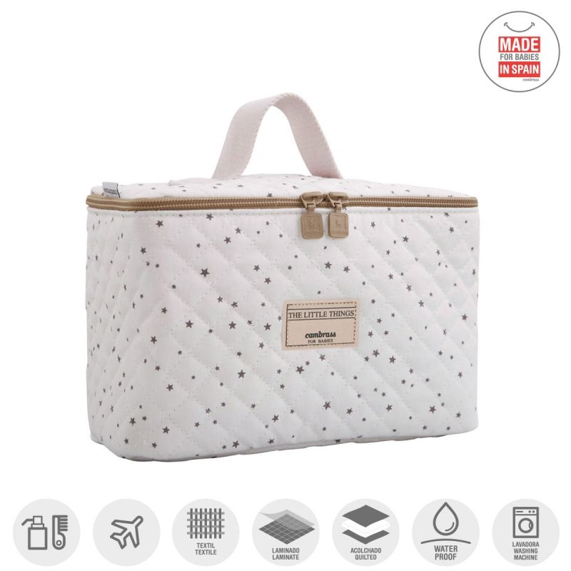 Bolso Vanity Astri gris Cambrass
