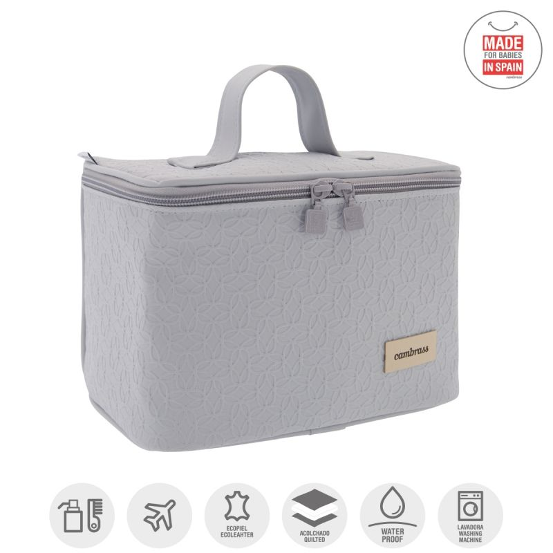 Bolso Vanity Luxy Gris - Cambrass