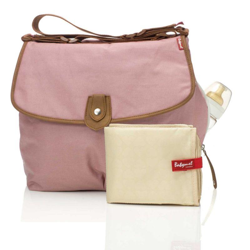 Bolso Cambiador en color rosa de Babymel