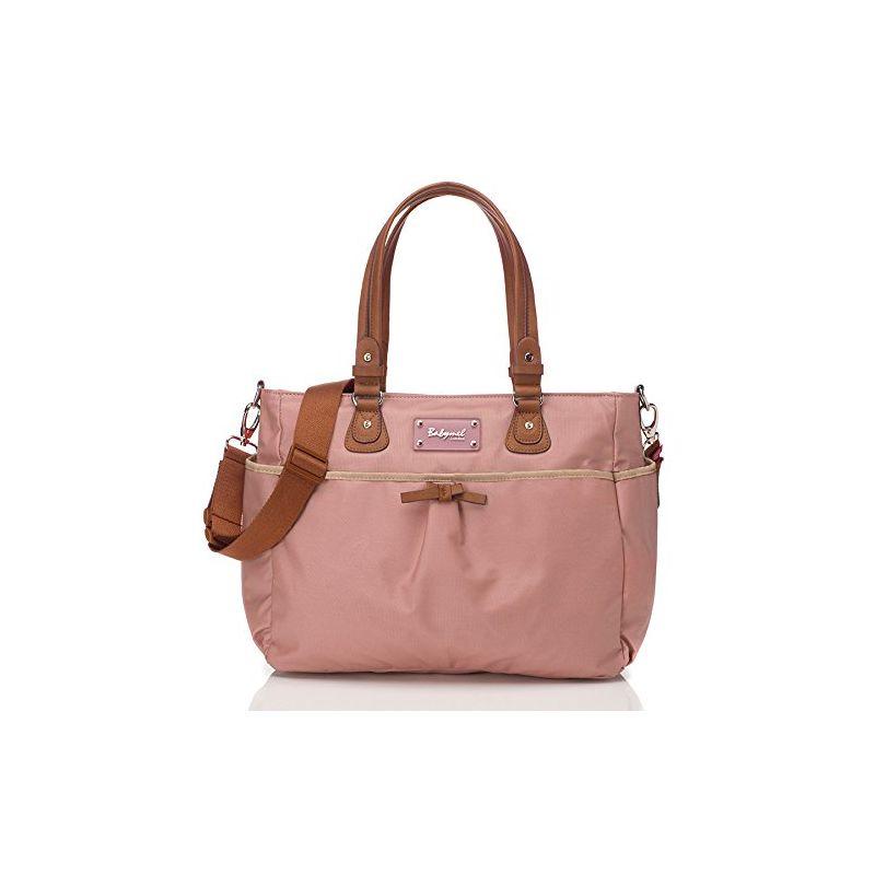 Bolso Cambiador Lily - BabyMel en color rosa