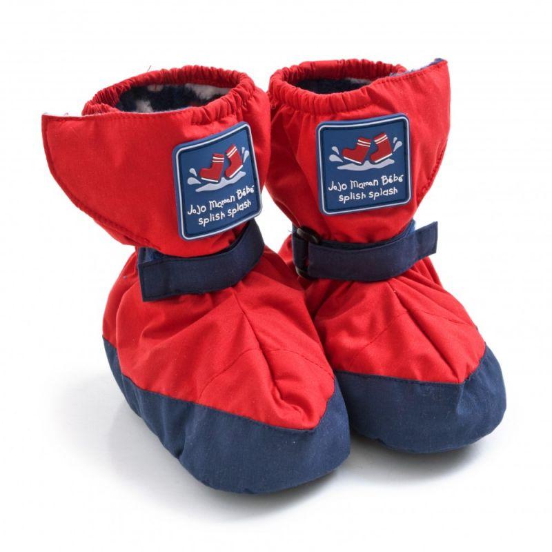 Botines Polares e Impermeables rojos para Bebé