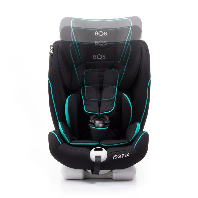 Silla de coche Bca Fix Grupo 1/2/3 con Isofix - Bqs azul turquesa