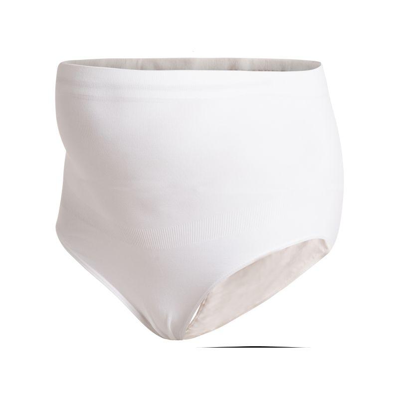 Bragas Premamá Blancas sin Costuras