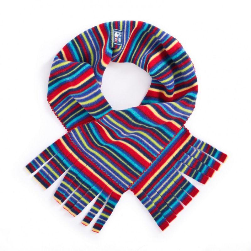 Bufanda Polar para Niños color arco iris