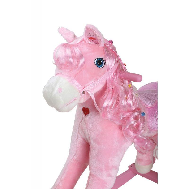 Caballito Balancín Pony Rosa