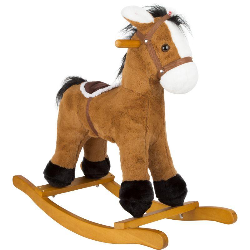 caballo balancin de madera