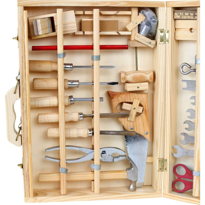 Caja de herramientas Deluxe - 48 piezas - a partir de 6 años