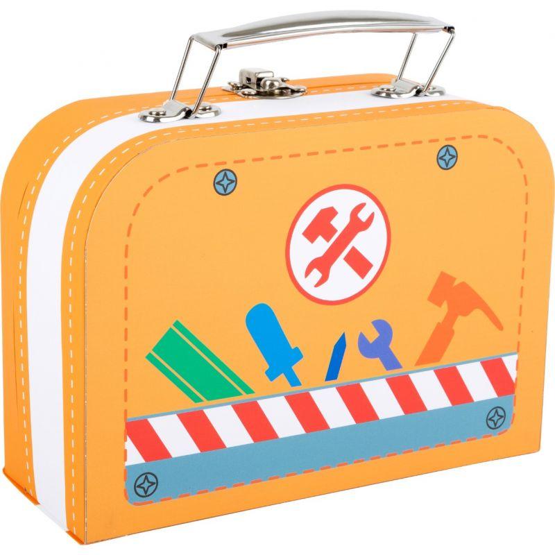 maletin de herramientas de madera, juguete para niños