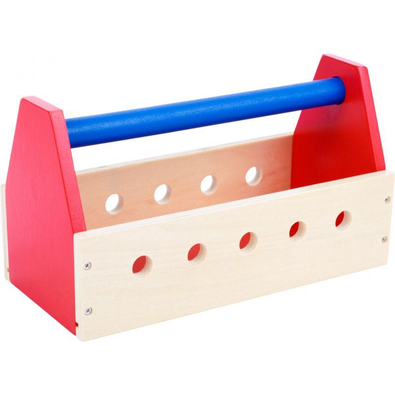 juguete de madera caja de herramientas