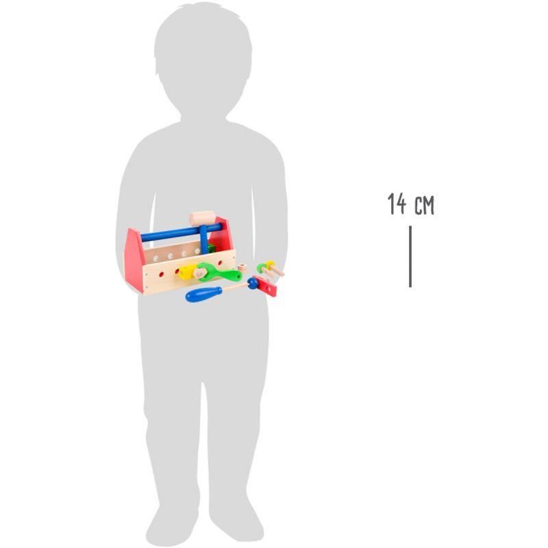 dimensiones Caja de herramientas multicolor