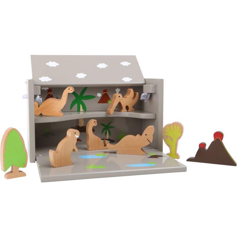Caja de madera Dinosaurios - Legler